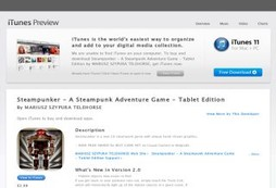 Steampunker - A Steampunk Adventure Game - Tablet Edition