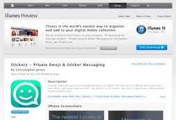 Stickerz - Private Emoji & Sticker Messaging
