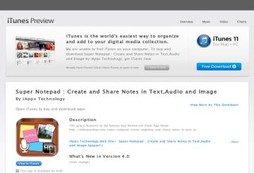 Super Notepad : Create and Share Notes in Text,Audio and Image