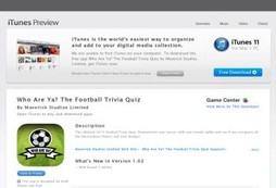 Who Are Ya? The Football Trivia Quiz