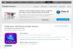 A total free yoga program that you can take with you