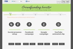 Crowdfunding Booster