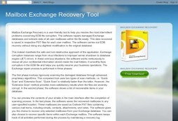 Mailbox Exchange Recovery Tool