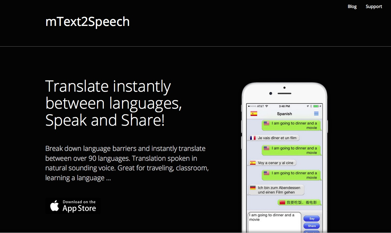 mText2Speech - Text to Speech