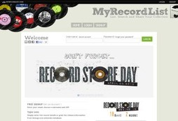 The ultimate record collector's online toy