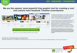 Facebook Timeline Cover Maker