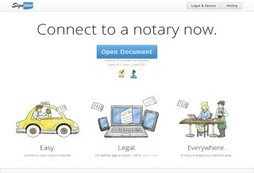Notarize your documents from the comfort of your own home