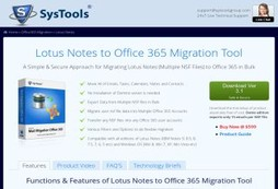 Migrate From Lotus Notes to Office 365