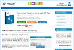 OLM to PST Converter Professional Edition for Mac Migration