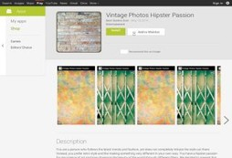 Vintage Photos Hipster Passion