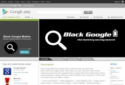 Black Google Mobile | Android App