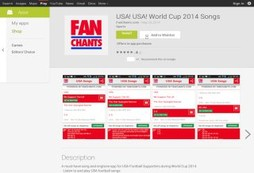 Stars and Stripes for the World Cup? Sing your heart out with fan chants and ringtones