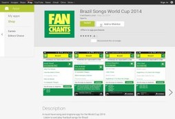 Brazil Songs World Cup 2014