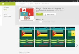 Flags of the World Logo Quiz