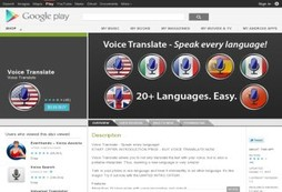 Augment your language skills with instant voice and text translations