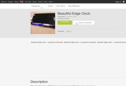 Beautiful Edge Clock