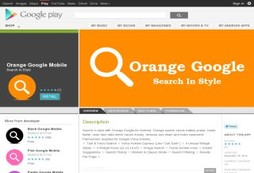 Orange Google Mobile