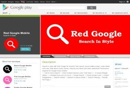 Red Google Mobile