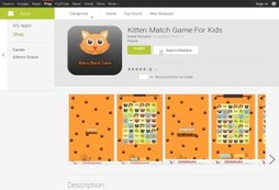 Kitten Match Game For Kids