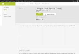 Jumpin Jack - 3D Puzzle Game