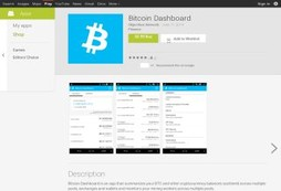 Bitcoin Dashboard