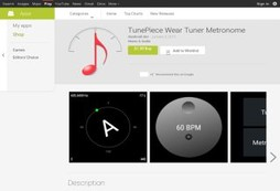TunePiece for Android Wear