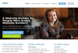 A cheap, fast and professional website creator for small business and creative types