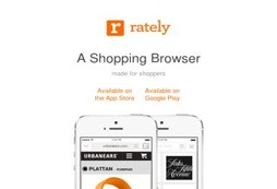 Rately shopping browser