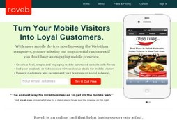 Make your business mobile friendly