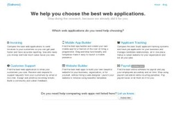The Choice magazine for comparing small business apps