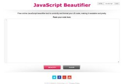 Java Script Beautifier