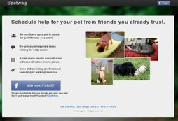 Get your Facebook friends to babysit your pets