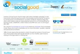 Summer of Social Good