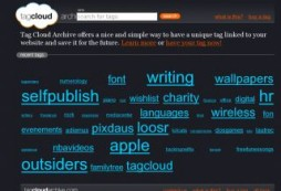 Tag Cloud Archive