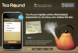 Tea Round Iphone App