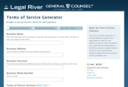 Terms of Service Generator
