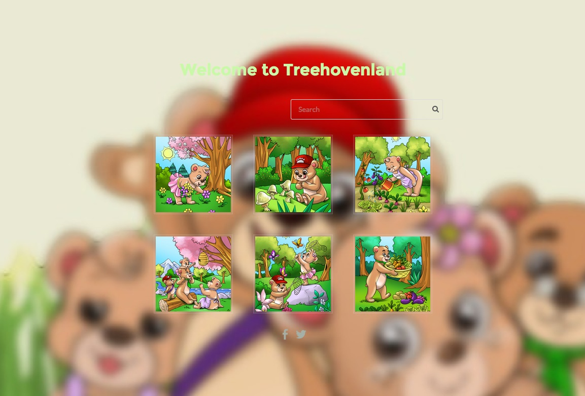Welcome to Treehovenland and grab some candies
