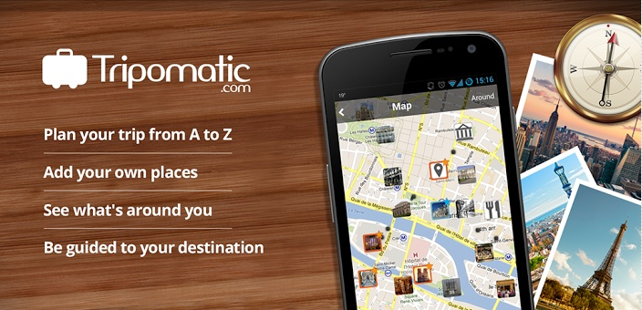 Personalize your city guides with Tripomatic