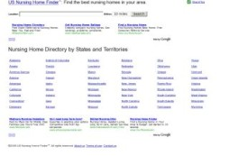 US Nursing Home Finder