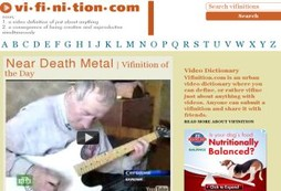 Vifinition Video Dictionary