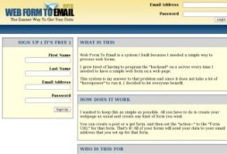 Web Form To Email