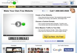 Everything you need to build your easy and free website fast
