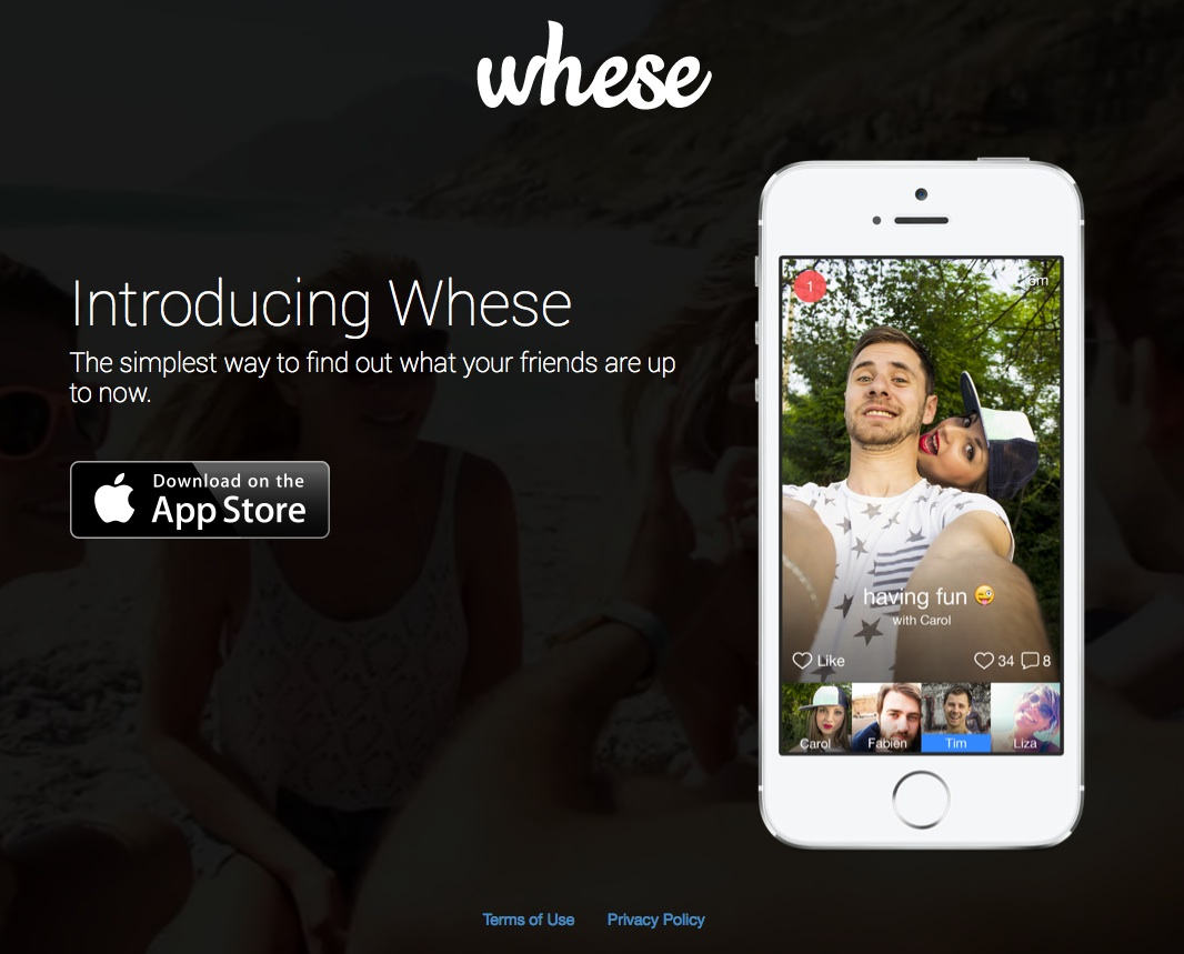 Create a social network to show off your selfies in real-time