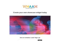 The Whaam Showcase Widget