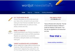 WordJot Newsletters