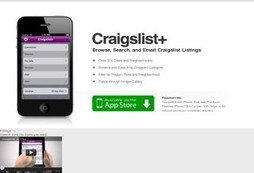 Browse, Search, and Email Craigslist listings on the go.