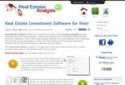Real Estate Analysis FREE