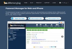 aMemoryJog Password Manager and Secure Digital Vault