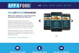 Put your restaurant or takeaway online with a mobile app