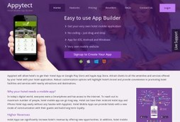 Appytect - Mobile Hotel App Builder